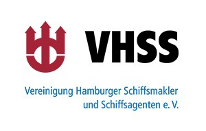 Logo VHSS Vereinigung Hamburger Schiffsmakler und Schiffsagenten eV