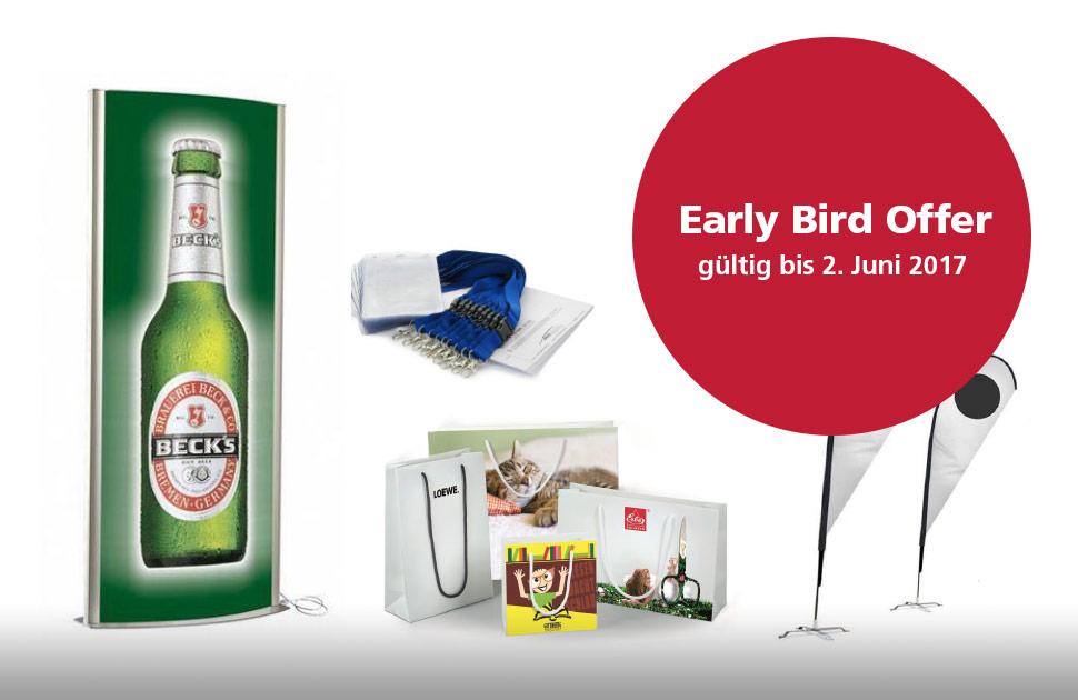 Eisbeinessen 2017 Early Bird Offer Sponsoring